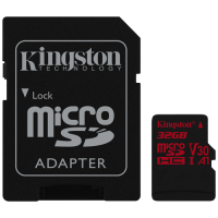 Canvas React Kingston, micro SDHC kartica sa adapterom, 32GB