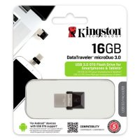 DataTraveler, Kingston microDuo flash disk drive, 16GB