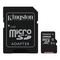 Canvas Select Kingston, MicroSD kartica sa adapterom, 128GB