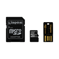 Mobility Kit Kingston, micro SDHC, SD adapter + USB čitač, 16GB