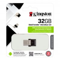 DataTraveler, Kingston microDuo flash disk drive, 32GB